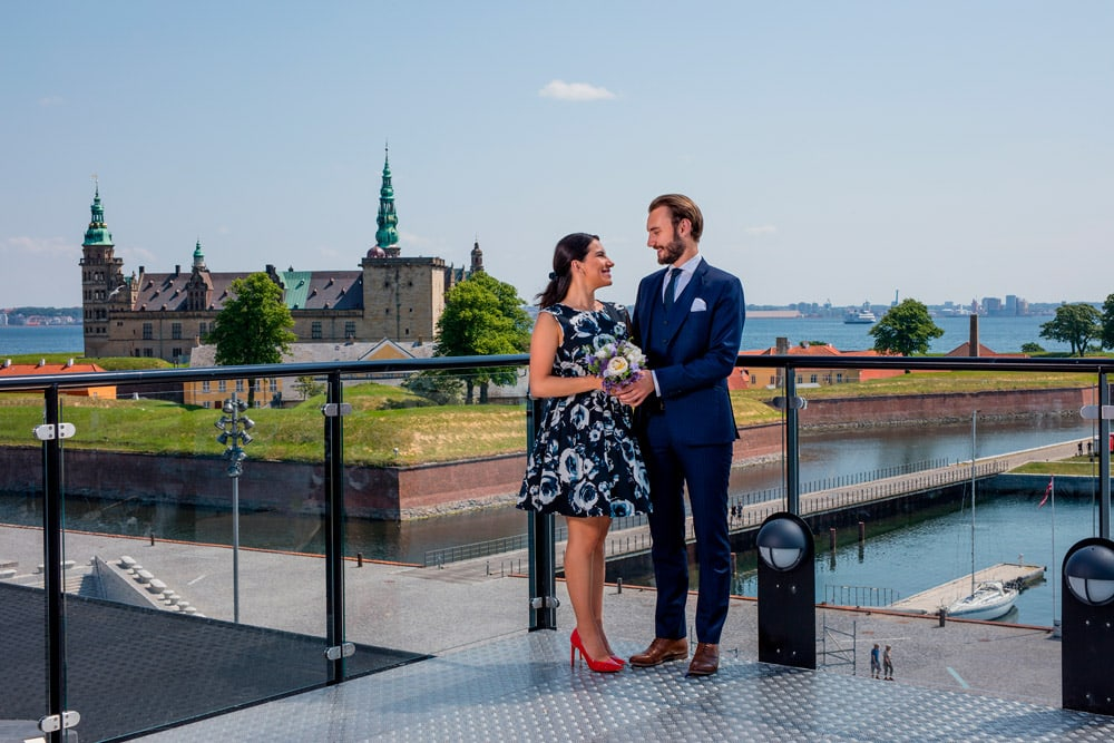 Rooftop wedding at the culture harbour
