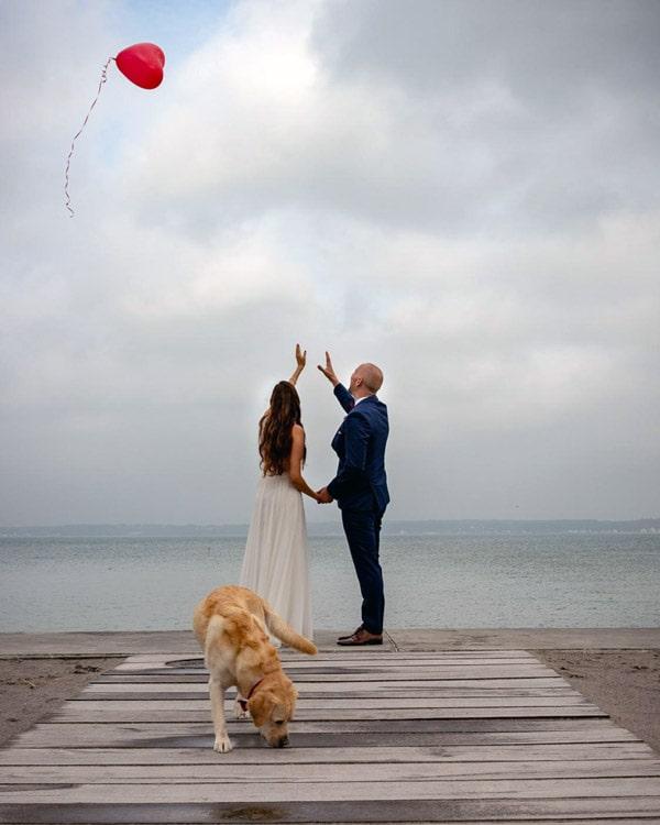 Germans getting married in denmark