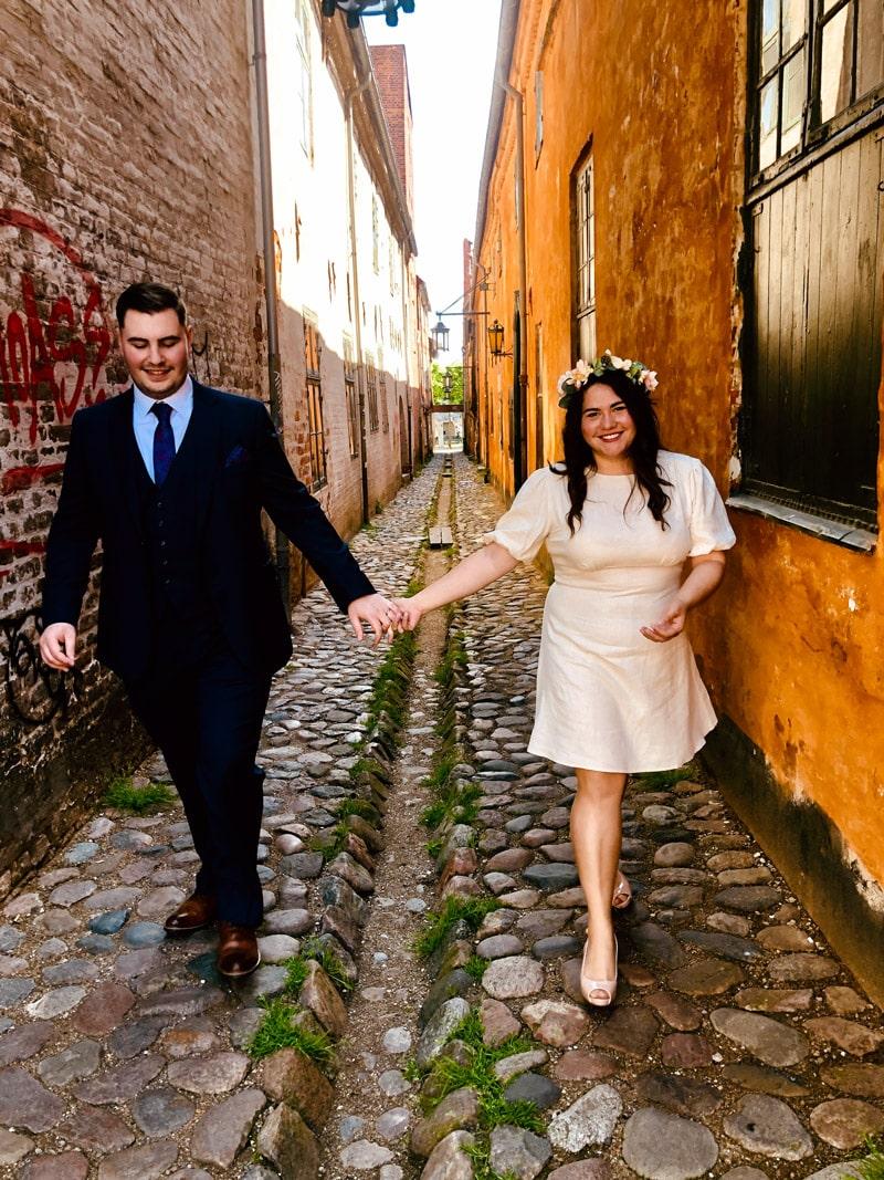 City hall wedding denmark