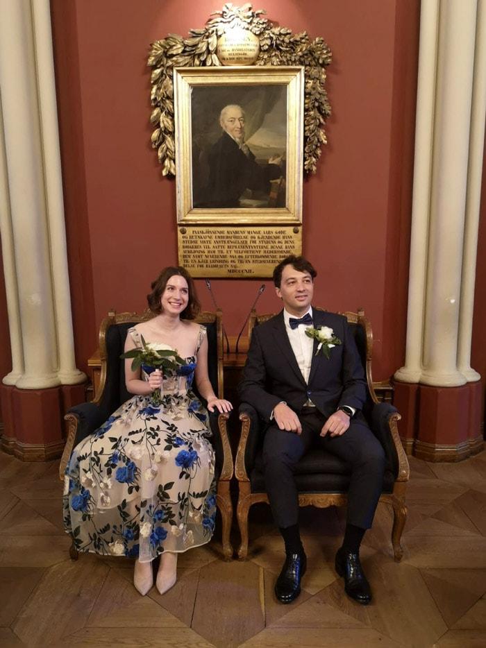 Foreign wedding in Denmark